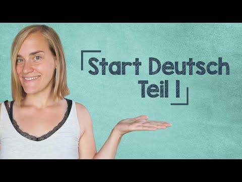 German Lesson (46) - Start Deutsch 1 Oral Exam - Part 1 - Goethe Institute - Prep - A1