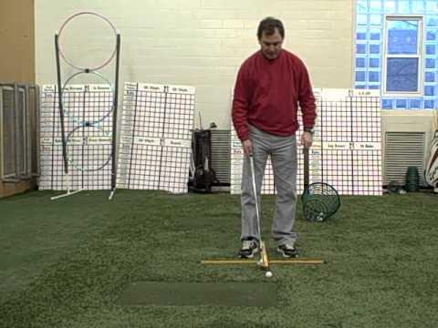 Sam Mckenney Golf Academy Ball Position For a Pitc...