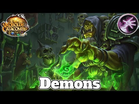 Gameplay Silvername's Zoo Warlock Post Nerf Kobolds and Catacombs | Hearthstone Guide How To Play