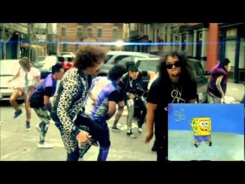 LMFAO & SpongeBob: STEPPING ON THE BEACH! 1 HOUR!