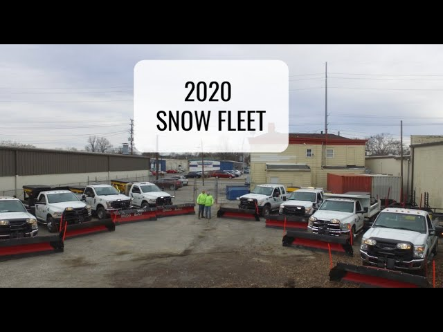 Snow Fleet 2020! Drone Fly Over