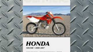 Clymer Manuals Honda XR650R XRR XR Manual Shop Service Repair Manual Maintenance Video