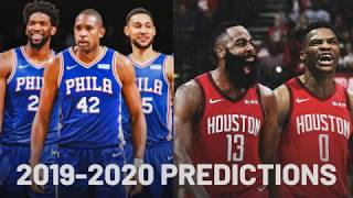 NBA Standings Predictions 2019-2020