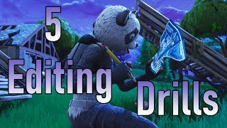 5 Edit Drills to Practice and Get Better at Fortnite BR!