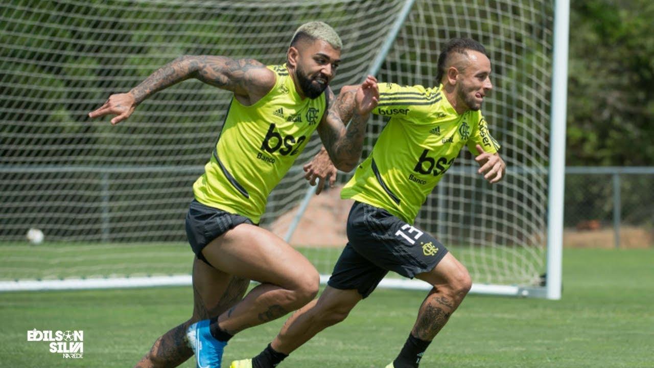 Confira todas as notícias do Flamengo e a preparação para enfrentar o Grêmio pela Libertadores
