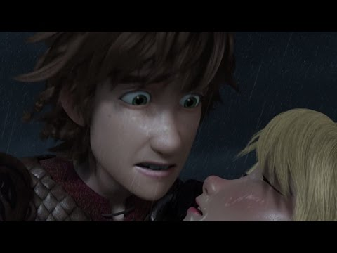 Hiccup And Astrid Saving Each Other Compilation Dragons Race To The Edge