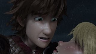 Hiccup and Astrid Saving Each Other Compilation!! Dragons: Race to the Edge