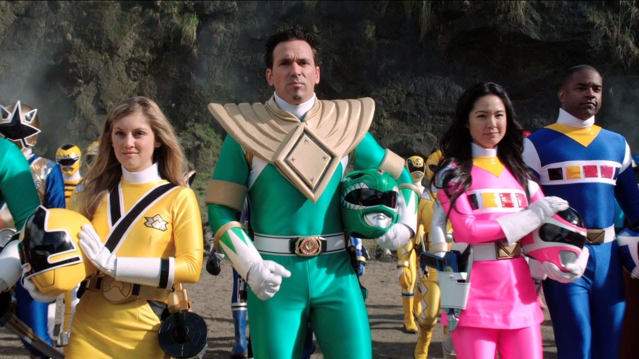 power rangers tommy jason david frank returns youtube