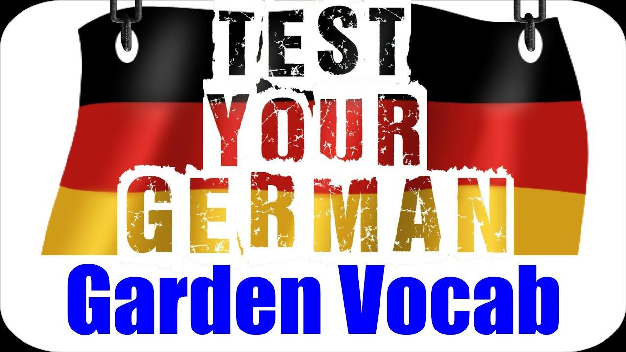 german language test answers typical garden. Black Bedroom Furniture Sets. Home Design Ideas