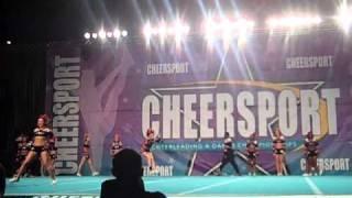 Fame All Star Notorious at  Cheer Sport Atlanta Feb 19 2011