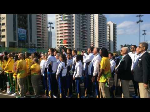 Podizanje zastave BiH na Olimpijskim igrama - Rio de Janeiro