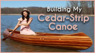 Building a Cedar-Strip Canoe in 30 Days!