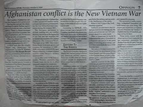 Afghanistan Conflict is the New Vietnam War, part 1/2