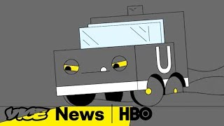 Self-Driving Cars War & Campus Free Speech: VICE News Tonight (HBO)