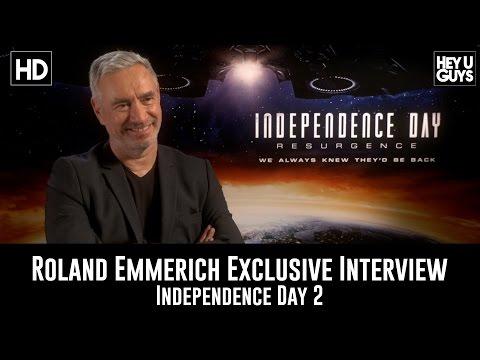 Roland Emmerich Exclusive Interview - Independence Day: Resurgence
