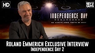 Roland Emmerich Exclusive Interview - Independence Day: Resurgence