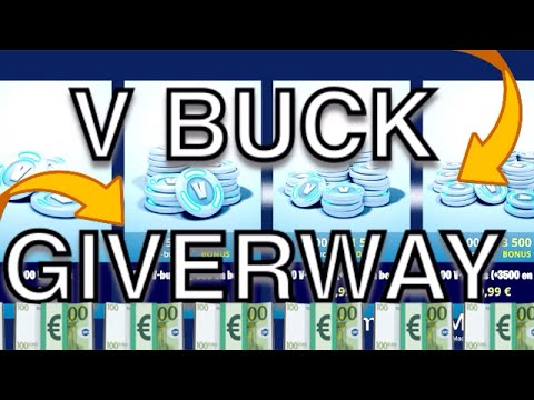 FREE V BUCK GIVERWAY-Fortnite Battle Royal