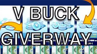 FREE V BUCK GIVERWAY-Fortnite Battle Royal