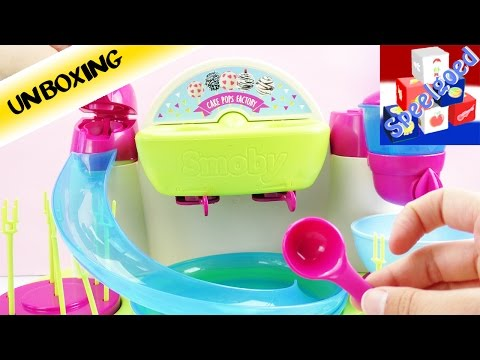 Cake Pops zelf maken met de Cake Pop Factory van Smoby | Koken en bakken voor kids | Unboxing