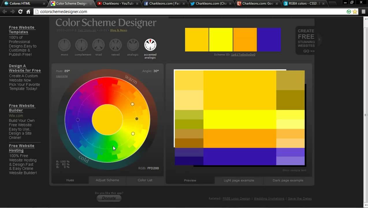 Color picker online rgba - Colores Html Rgb Rgba Charkleons Com 720p Hd