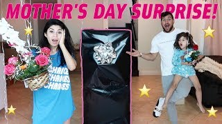 MOTHER'S DAY SURPRISE SHE DID NOT EXPECT!!