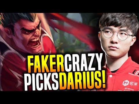 Faker Wants To Destroy With Darius! - SKT T1 Faker SoloQ Playing Darius! | SKT T1 Replays