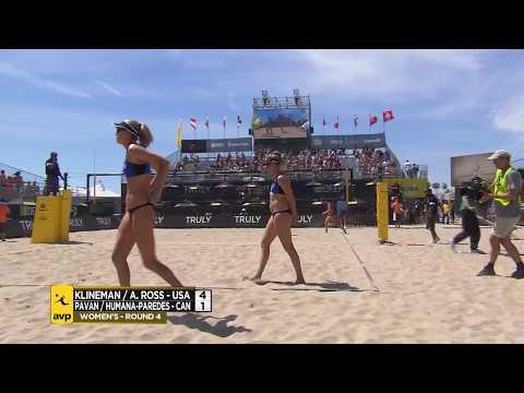2018 FIVB Huntington Beach Open: Klineman/Ross vs Pavan/Humana-Paredes