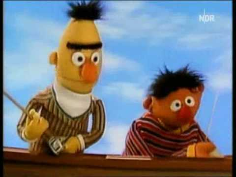 sesamstrasse ernie und bert angeln youtube. Black Bedroom Furniture Sets. Home Design Ideas