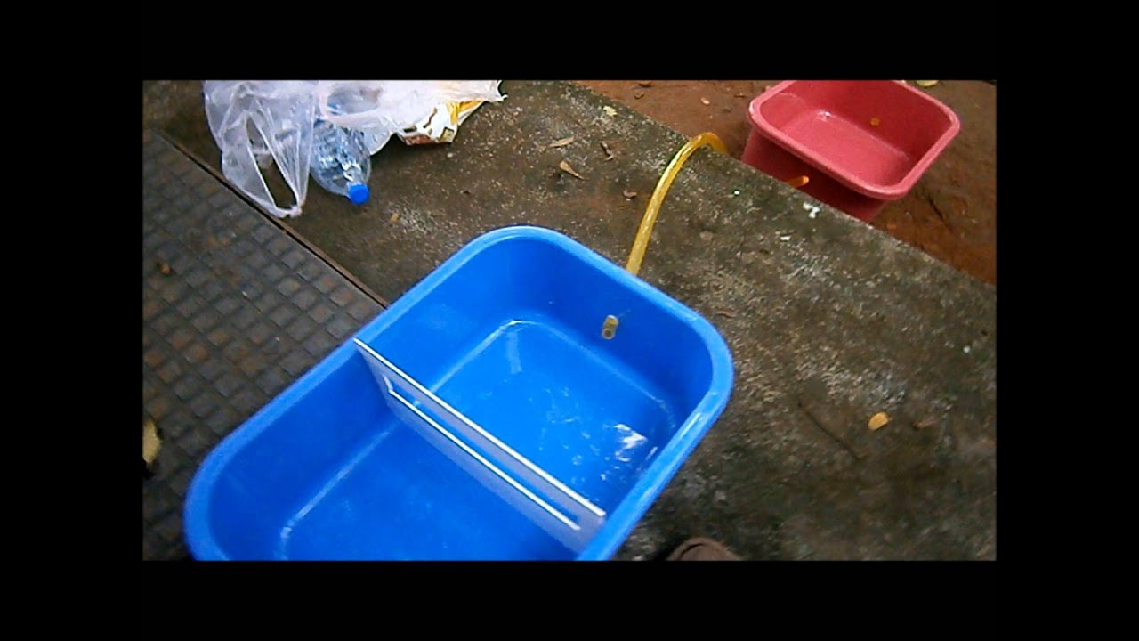 Home Water Treatment Systems Cost Low Energy Intensive Kitchen Waste Water Treatment Youtube