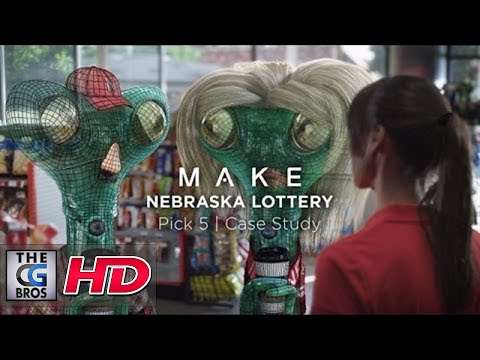 "CGI VFX Breakdowns HD: ""Nebraska Lottery/ Aliens/ Case Study - by Make"