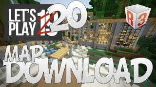 Let's play Ep20 (français, map survie) - Map Download !!! - Minecraft - R3li3nt