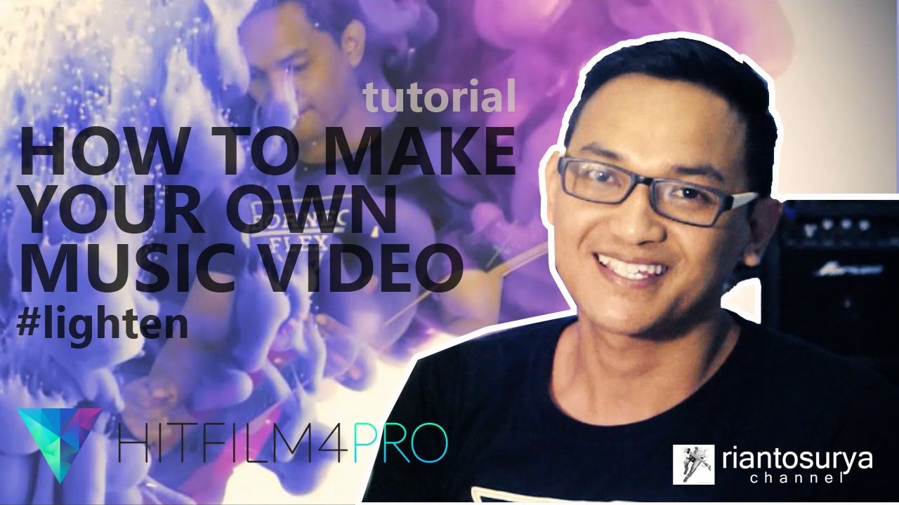 tutorial make your own music video using a hitfilm youtube. Black Bedroom Furniture Sets. Home Design Ideas
