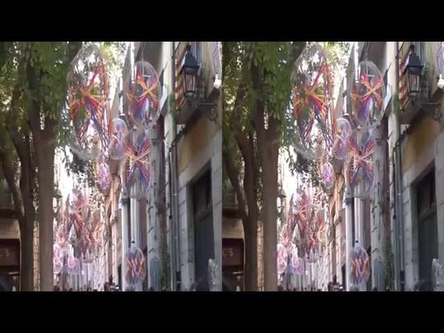 Girona Temps de flors - Tiempo de flores en 3D