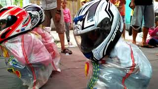 """We called it """"tuyul race""""  #just for fun"""