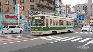 広島電鉄800形808号 舟入本町〜舟入幸町