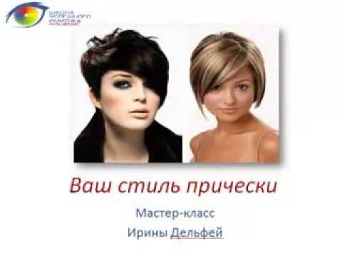Подобрать прическу и цвет волос по форме лица