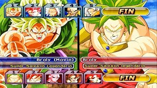 Team Broly (Dragon Ball Super) VS Team Broly (Dragon Ball Z) | Dragon Ball Z Budokai Tenkaichi 3
