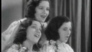"The Boswell Sisters in 1932 with ""Heebie Jeebies"""