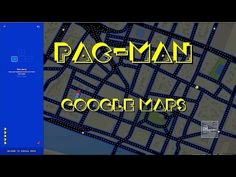 Stop What You're Doing And Play Pac-Man On Google Maps Now
