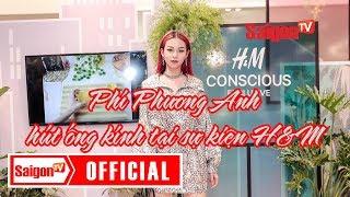 Phí Phương Anh hút ống kính tại sự kiện H&M - SAIGONTV