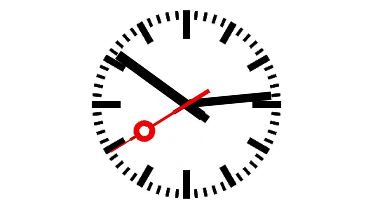 Clock animation - YouTube