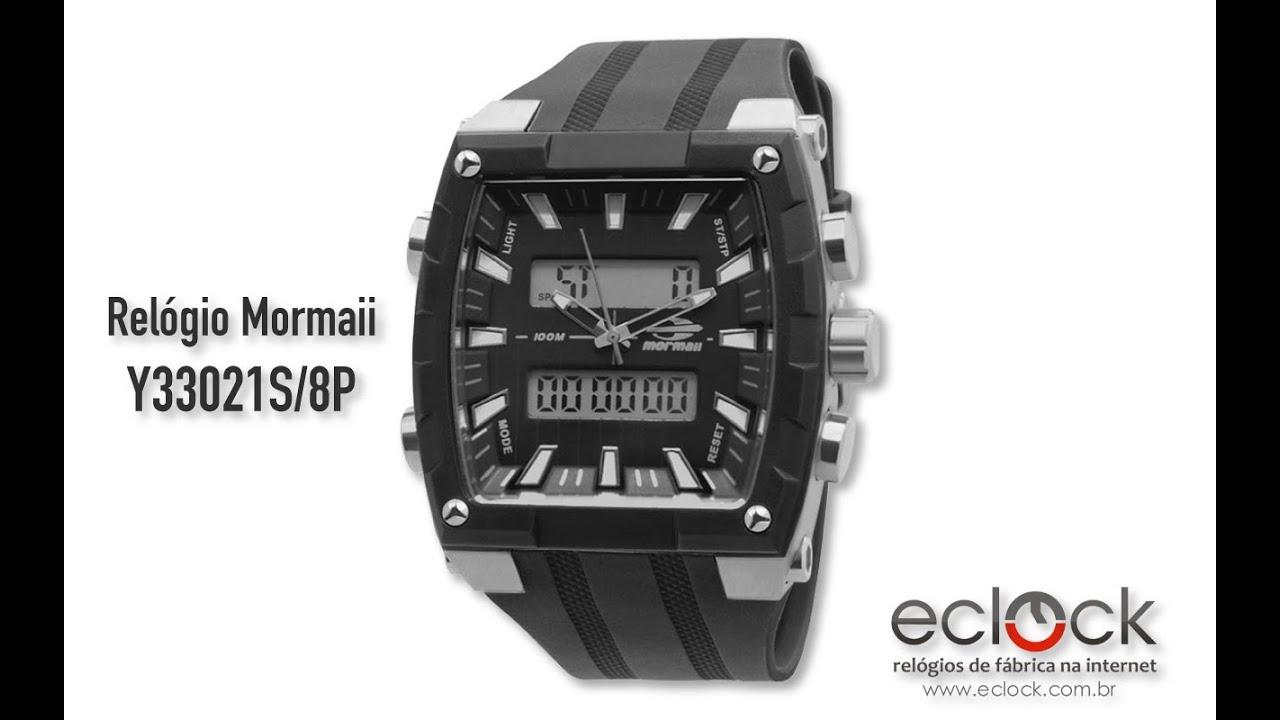 08171f544a21f Relógio Unissex Mormaii Acquarela FZV 8R Troca Pulseiras -