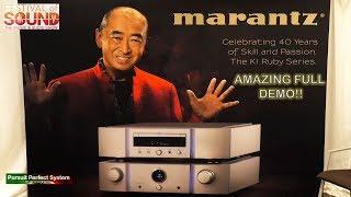 Gambar cover Marantz NEW KI Ruby DAC Amplifier full Ken Ishiwata AMAZING DEMO!! @ Festival of Sound 2018