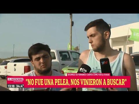 TESTIGO Y AMIGOS Relatan Cómo Los RUGBIERS Mataron Al Joven - El Noti De La Gente