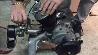 1er demarrage moteur vespa 125 primavera 1972