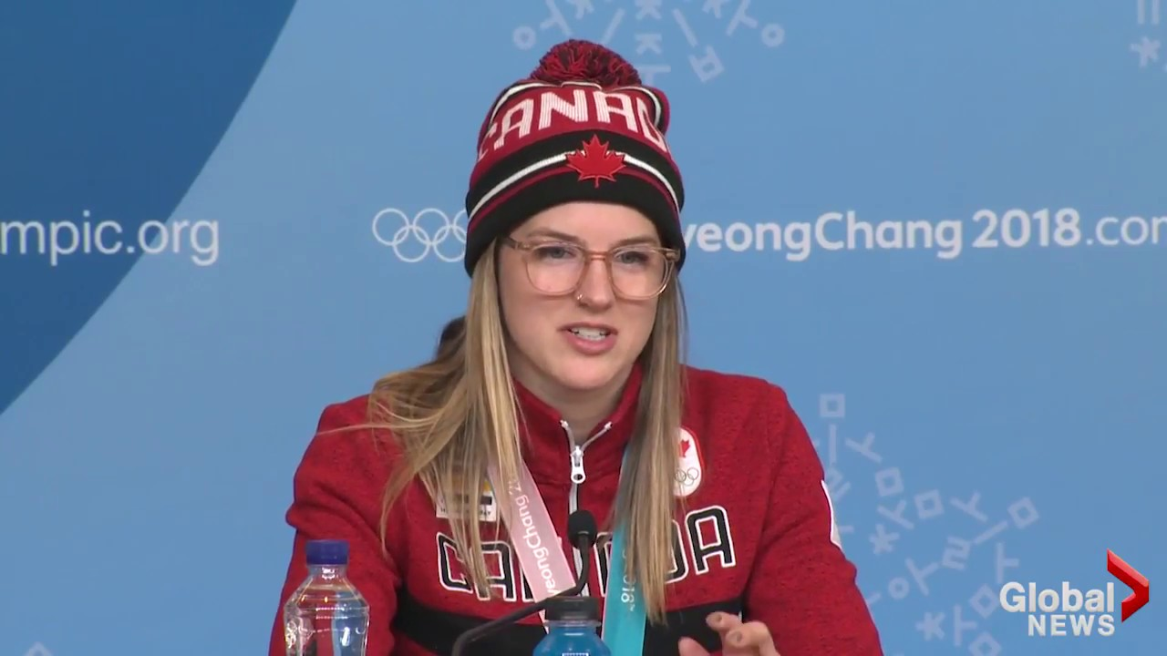 Canadian Cassie Sharpe Describes The Moment She Knew She Won A Gold Medal
