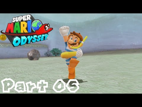 Super Mario Odyssey -- Part 05: Relaxing at Lake Lamode | Lake Kingdom
