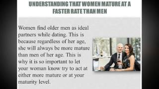 Best Dating Advice For The Older Man