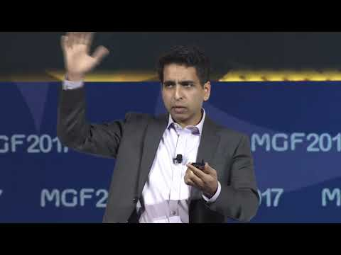 Sal Khan at Misk Global Forum 2017