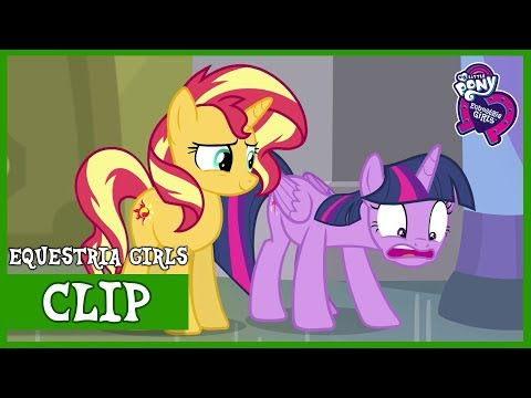 The restricted section in Canterlot's Library | MLP Equestria Girls | Forgotten Friendship [Full HD]